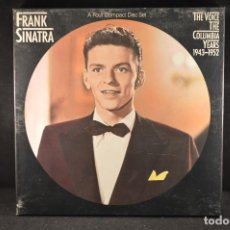 CDs de Música: FRANK SINATRA - THE VOICE THE COLUMBIA YEARS 1943-1952 - 4 CD BOX SET. Lote 132713654