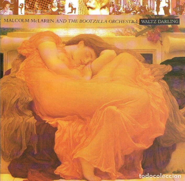 MALCOLM MCLAREN & THE BOOTZILLA ORCHESTRA - WALTZ DARLING - CD ALBUM - 8 TRACKS - EPIC / CBS UK 1989 (Música - CD's World Music)