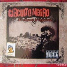 CDs de Música: CIRCUITO NEGRO.EL RETORNO DE LOS CACOS CALIENTES.HIP HOP REP DOMINICANA. Lote 132792306
