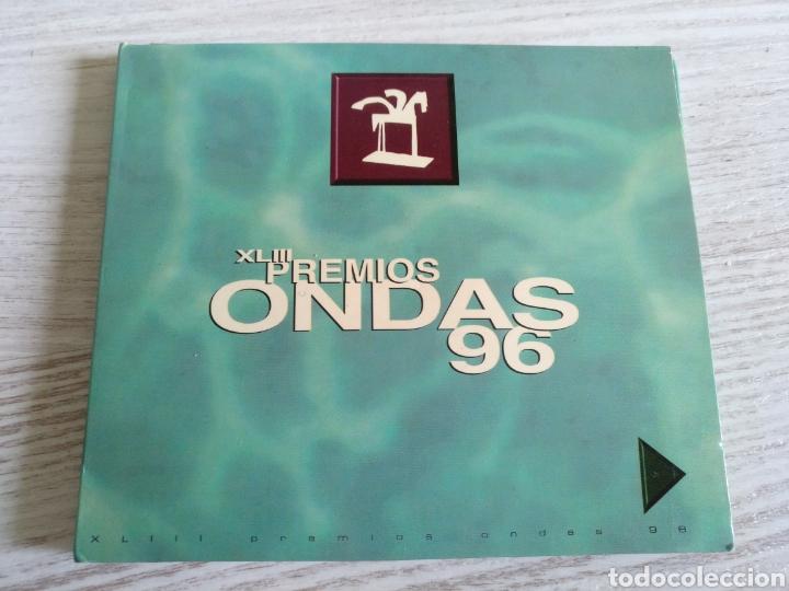 PREMIOS ONDAS 1996 DOBLE CD HÉROES DEL SILENCIO LUZ CASAL ANTONIO FLORES SERRAT (Música - CD's Pop)