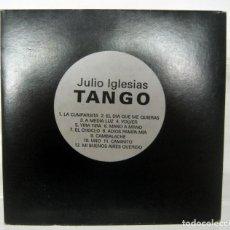 CDs de Música: CD PROMO JULIO IGLESIAS TANGO . RARO DIFÍCIL DE ENCONTRAR . . Lote 132801478