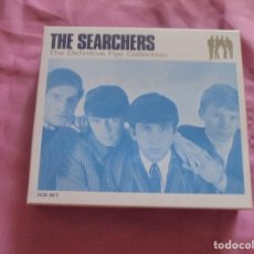 CDs de Música: THE SEARCHERS. THE DEFINITIVE PYE COLLECTION. 3 CD´S + LIBRETO. SANTUARY, 2004. IMPECABLES. Lote 132813130