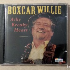 CDs de Música: BOXCAR WILLIE - ACHY BREAKY HEART - CD. SPECTRUM MUSIC, 1993.. Lote 132819246