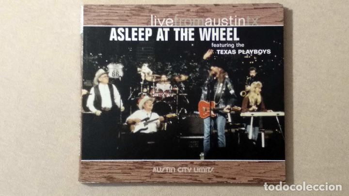 ASLEEP AT THE WHEEL - LIVEFROMAUSTINTX - NEW WEST RECORDS. 2006. (Música - CD's Country y Folk)