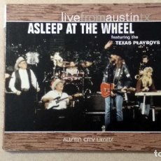 CDs de Música: ASLEEP AT THE WHEEL - LIVEFROMAUSTINTX - NEW WEST RECORDS. 2006.. Lote 132826898