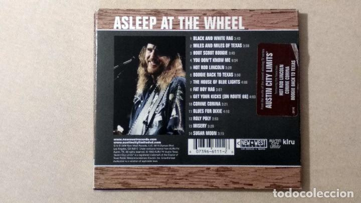 CDs de Música: ASLEEP AT THE WHEEL - LiveFromAustinTX - New West Records. 2006. - Foto 2 - 132826898
