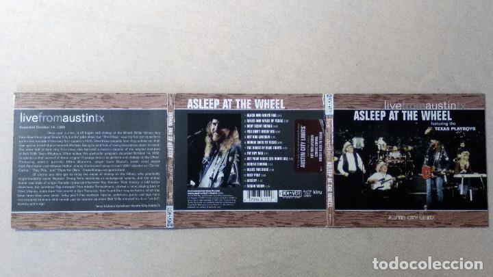 CDs de Música: ASLEEP AT THE WHEEL - LiveFromAustinTX - New West Records. 2006. - Foto 3 - 132826898
