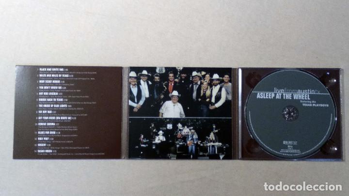 CDs de Música: ASLEEP AT THE WHEEL - LiveFromAustinTX - New West Records. 2006. - Foto 4 - 132826898