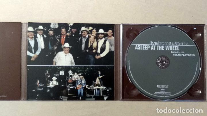 CDs de Música: ASLEEP AT THE WHEEL - LiveFromAustinTX - New West Records. 2006. - Foto 5 - 132826898