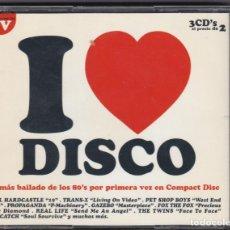 CDs de Música: I LOVE DISCO, LO MAS BAILADO DE LOS 80. Lote 132826950