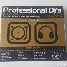CDs de Música: PROFESSIONAL DJ'S VOL. 3 (2000) 4 CDS. Lote 132866841