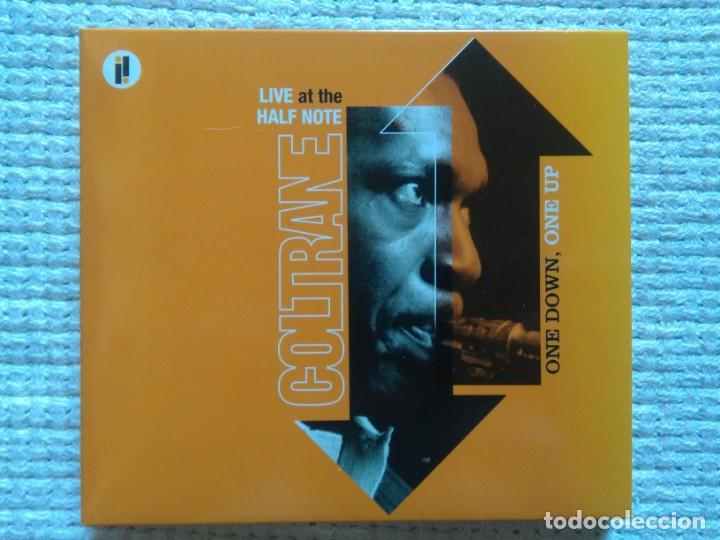 JOHN COLTRANE - '' ONE DOWN, ONE UP (LIVE AT THE HALF NOTE) '' 2 CD + BOOK 20-PAGE EU 2005 (Música - CD's Jazz, Blues, Soul y Gospel)