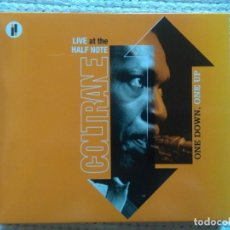 CDs de Música: JOHN COLTRANE - '' ONE DOWN, ONE UP (LIVE AT THE HALF NOTE) '' 2 CD + BOOK 20-PAGE EU 2005. Lote 132869466