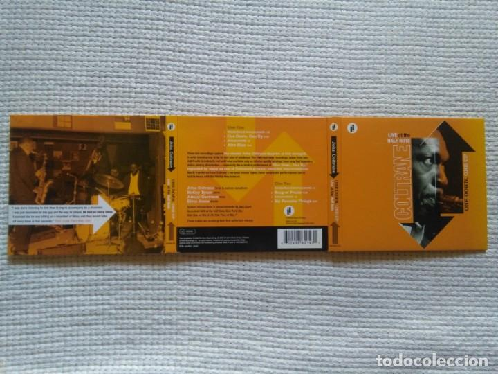 CDs de Música: JOHN COLTRANE - ONE DOWN, ONE UP (LIVE AT THE HALF NOTE) 2 CD + BOOK 20-PAGE EU 2005 - Foto 3 - 132869466