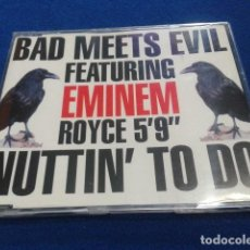 CDs de Música: CD MAXI SINGLE EMINEM ( BAD MEETS EVIL FEATURING EMINEM ROYCE 5´9 NUTTIN TO DO) 2002 BLANCO Y NEGRO. Lote 132895542