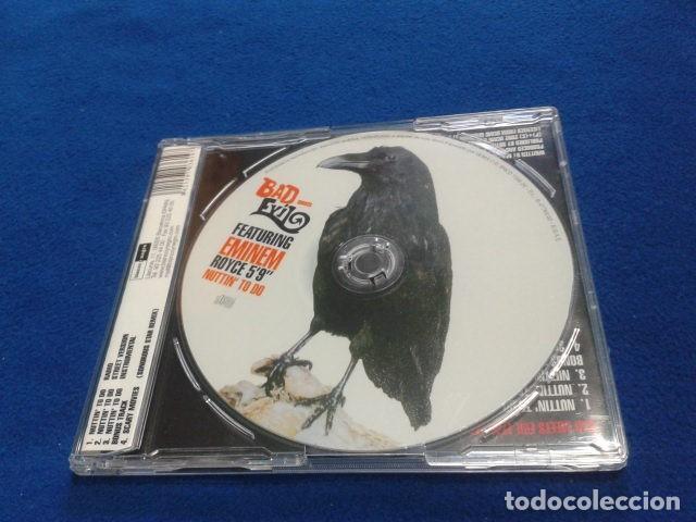 CDs de Música: CD MAXI SINGLE EMINEM ( BAD MEETS EVIL FEATURING EMINEM ROYCE 5´9 NUTTIN TO DO) 2002 BLANCO Y NEGRO - Foto 2 - 132895542