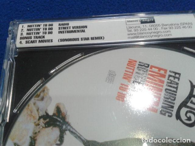 CDs de Música: CD MAXI SINGLE EMINEM ( BAD MEETS EVIL FEATURING EMINEM ROYCE 5´9 NUTTIN TO DO) 2002 BLANCO Y NEGRO - Foto 3 - 132895542