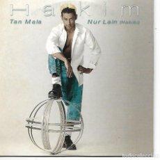 CDs de Música: CD. HAKIM - TAN MALA - NUR LAIN (HABIBI) - DISCO PROMOCIONAL. Lote 132908018