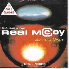 CDs de Música: CD. REAL MACCOY - ANOYHER NIGHT - US - MIXES. Lote 132908918