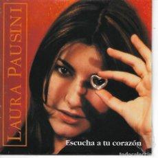 CDs de Música: CD. LAURA PAUSINI - ESCUCHS TU CORAZON - PROMOTIONAL USE ONLY - PRECINTADO. Lote 132909322