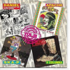 CDs de Música: CD. DANIEL Y LA CUARTET DE BANO BAND - APACHE - SKA-P - V COLUMNA - VOL.III. Lote 132910998