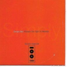 CDs de Música: CD. SIMPLY RED - MONEYS TOO TIGHT TO MENTION - EDICION ESPECIAL CADENA 100. Lote 132911822