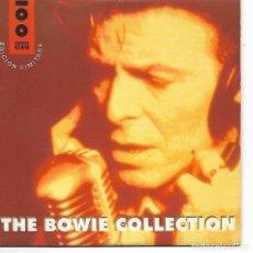 CDs de Música: CD. THE BOWIE COLLECTION - EDICION LIMITADA CADENA 100 - NUMERO 0255. Lote 132912454