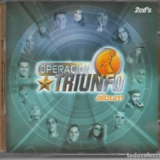 CDs de Música: CD. OPERACION TRIUNFO - ALBUM - VER FOTOS DE LAS CANCIONES. Lote 132912978