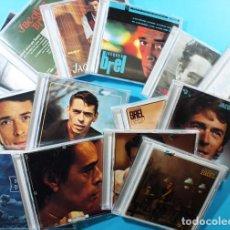 CDs de Música: IMPRESIONANTE COLECCION DE 14 CD DE JACQUES BREL, BARCLAYS PHILIPS 2003, VER IMAGENES. Lote 132915398
