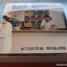 CDs de Música: BLACK SABBATH - ACCIDENTAL OVERDOSE (2CD PACK LIVE) RARE. Lote 132919754