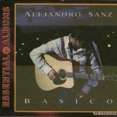 CDs de Música: ESSENTIAL ALBUMS: ALEJANDRO SANZ - BÁSICO - CD ALBUM - 10 TRACKS - WARNER MUSIC SPAIN 2008. Lote 132934034