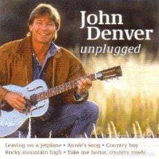 CDs de Música: JOHN DENVER - UNPLUGGED - CD [DISKY, 2001]. Lote 132934594