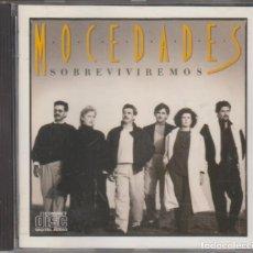CDs de Música: MOCEDADES CD SOBREVIVIREMOS 1987 CBS SPAIN. Lote 132942442