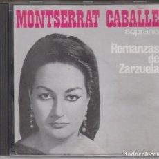 CDs de Música: MONTSERRAT CABALLÉ CD ROMANZAS DE ZARZUELA 1989 ARIOLA . Lote 132954646