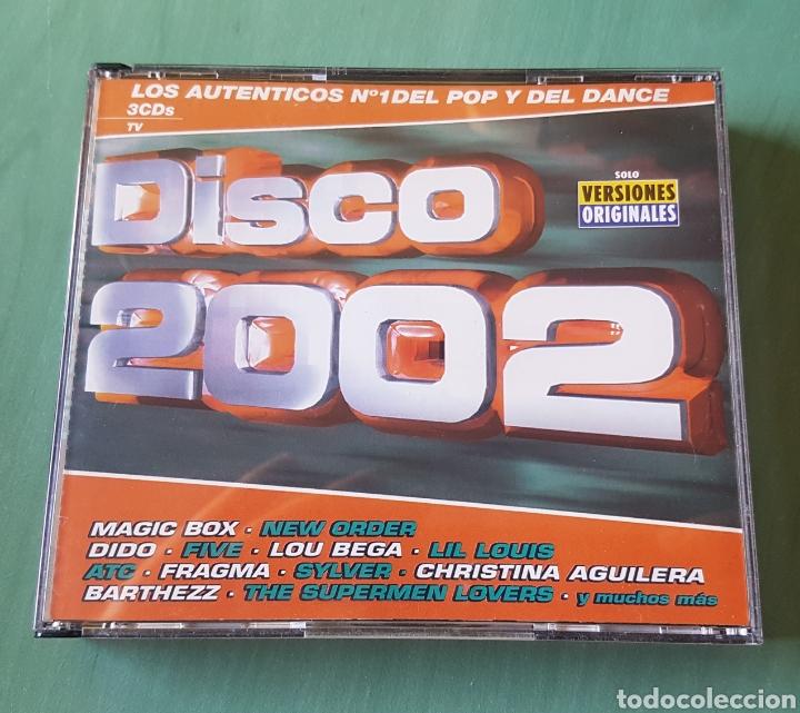 DISCO 2002. 3 CDS (Música - CD's Otros Estilos)