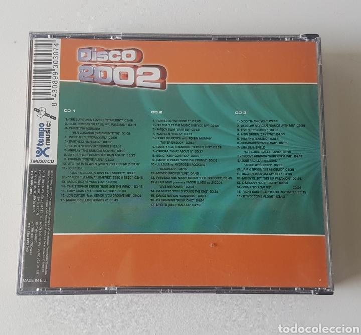 CDs de Música: Disco 2002. 3 CDs - Foto 2 - 132968297