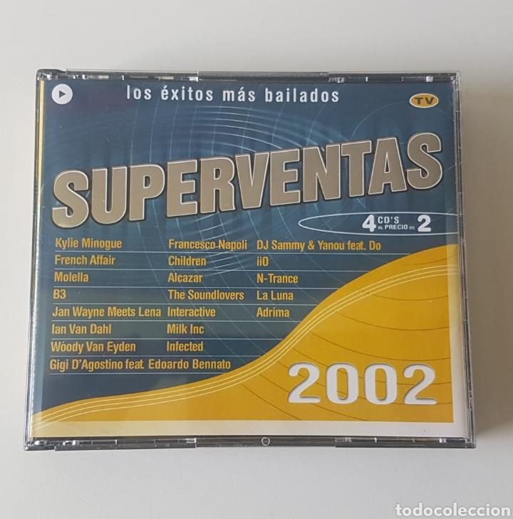SUPERVENTAS 2002. 4 CDS (Música - CD's Otros Estilos)