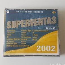 CDs de Música: SUPERVENTAS 2002. 4 CDS. Lote 132977103