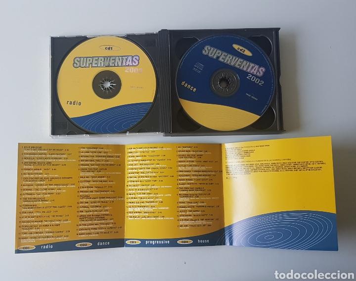 CDs de Música: Superventas 2002. 4 CDs - Foto 3 - 132977103