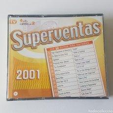 CDs de Música: SUPERVENTAS 2001. 4 CDS. Lote 132977235
