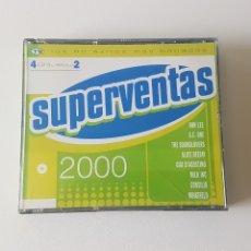 CDs de Música: SUPERVENTAS 2000. 4 CDS. Lote 132977379