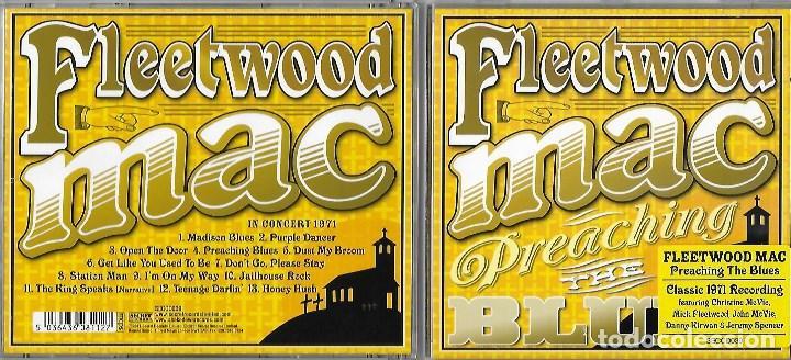 CDs de Música: FLEETWOOD MAC : PREACHING THE BLUES. FABULOSO ROCK BLUES BRITÁNICO. GRABADO EN DIRECTO EN 1971 - Foto 1 - 132977866