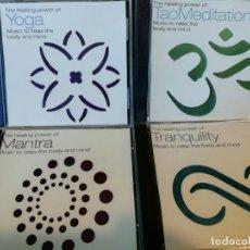 CDs de Música: CUATRO CDS MUSICA NEW AGE - AMBIENT - MEDITACIÓN - TAO - YOGA - MANTRA. Lote 132995126