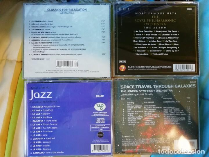 CDs de Música: CUATRO CDs MÚSICA CHILL OUT - AMBIENT - ORQUESTA - CLÁSICA - NEW AGE - BSO... - Foto 2 - 132998434