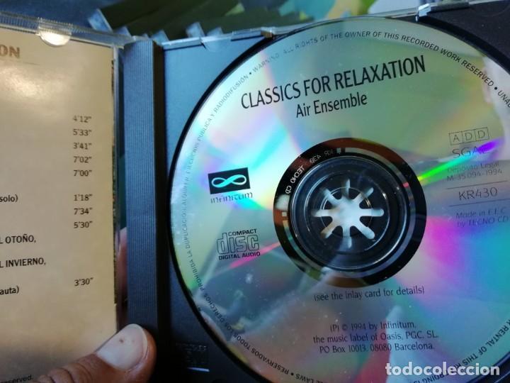 CDs de Música: CUATRO CDs MÚSICA CHILL OUT - AMBIENT - ORQUESTA - CLÁSICA - NEW AGE - BSO... - Foto 4 - 132998434