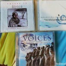 CDs de Música: TRES CDS MÚSICA NEW AGE - CHILL OUT - TAICHÍ - ÉTNICA. Lote 132999518
