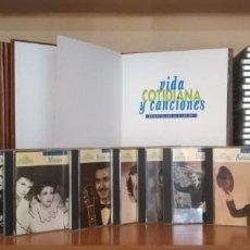 CDs de Música: 65 CDS DE MÚSICA ESPAÑOLA- COLECCIÓN VIDA COTIDIANAS Y CANCIONES. Lote 133000894