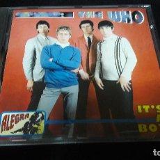 CDs de Música: THE WHO - IT´S A BOY ALEGRA CD 9040 1995 DIFICIL MUY BUEN ESTADO. Lote 133032198
