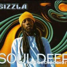 CDs de Música: SIZZLA - SOUL DEEP (CD) LABEL:GREENSLEEVES RECORDS CAT#: GRELCD 285 . Lote 133060430