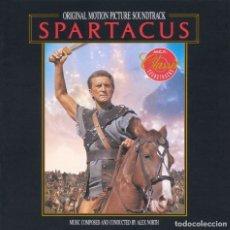 CDs de Música: SPARTACUS / ALEX NORTH CD BSO. Lote 217949662